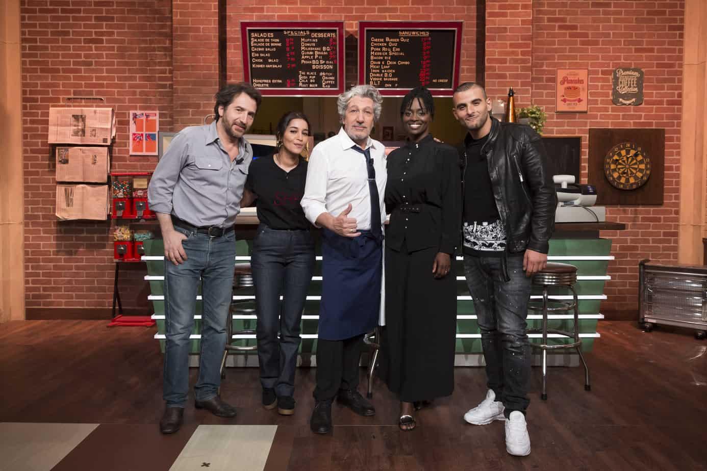 Qui sont les premiers invités d'Alain Chabat sur TMC — Burger Quiz