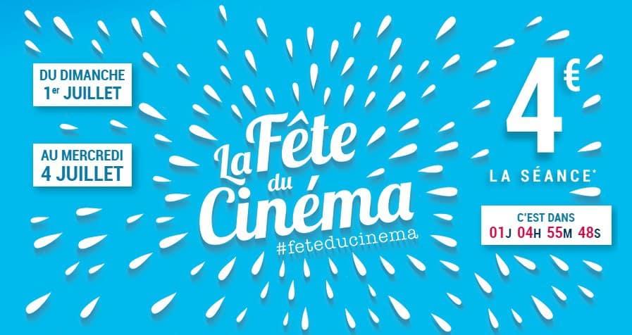 Le cinéma est en fête jusqu'au 4 juillet — Normandie