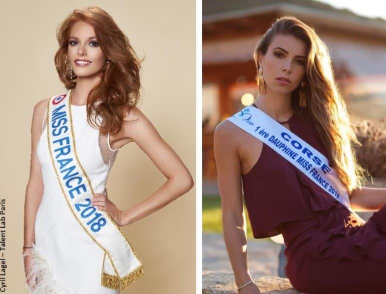 Miss World 2018 et Miss Univers 2018   Maëva Coucke et Eva Colas  représenteront la France   Actualités en direct et info en continu 6e154cd9970