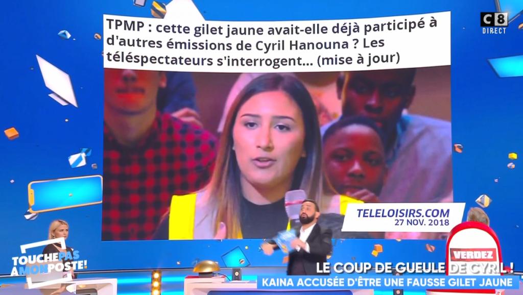 VIDÉO Cyril Hanouna s'en prend violemment à Télé-Loisirs