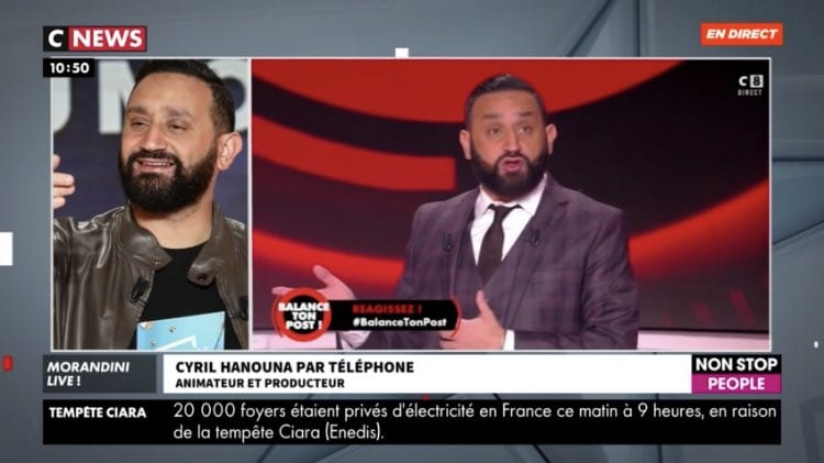 Cyril Hanouna dément être candidat — Présidentielle en France