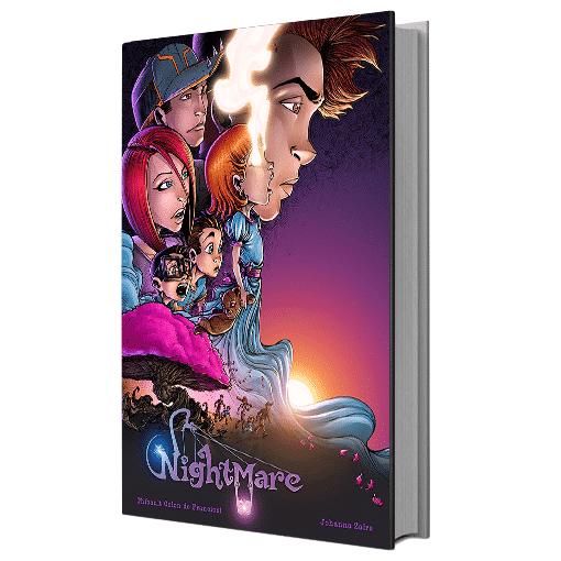 Sortie du Livre 1 de « Nightmare », un mélange atypique de roman, d'illustrations et de bande dessinée, signé Johanna Zaïre et Thibault Colon de Franciosi