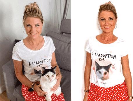 Une image contenant personne, chien, photo, femmeDescription générée automatiquement